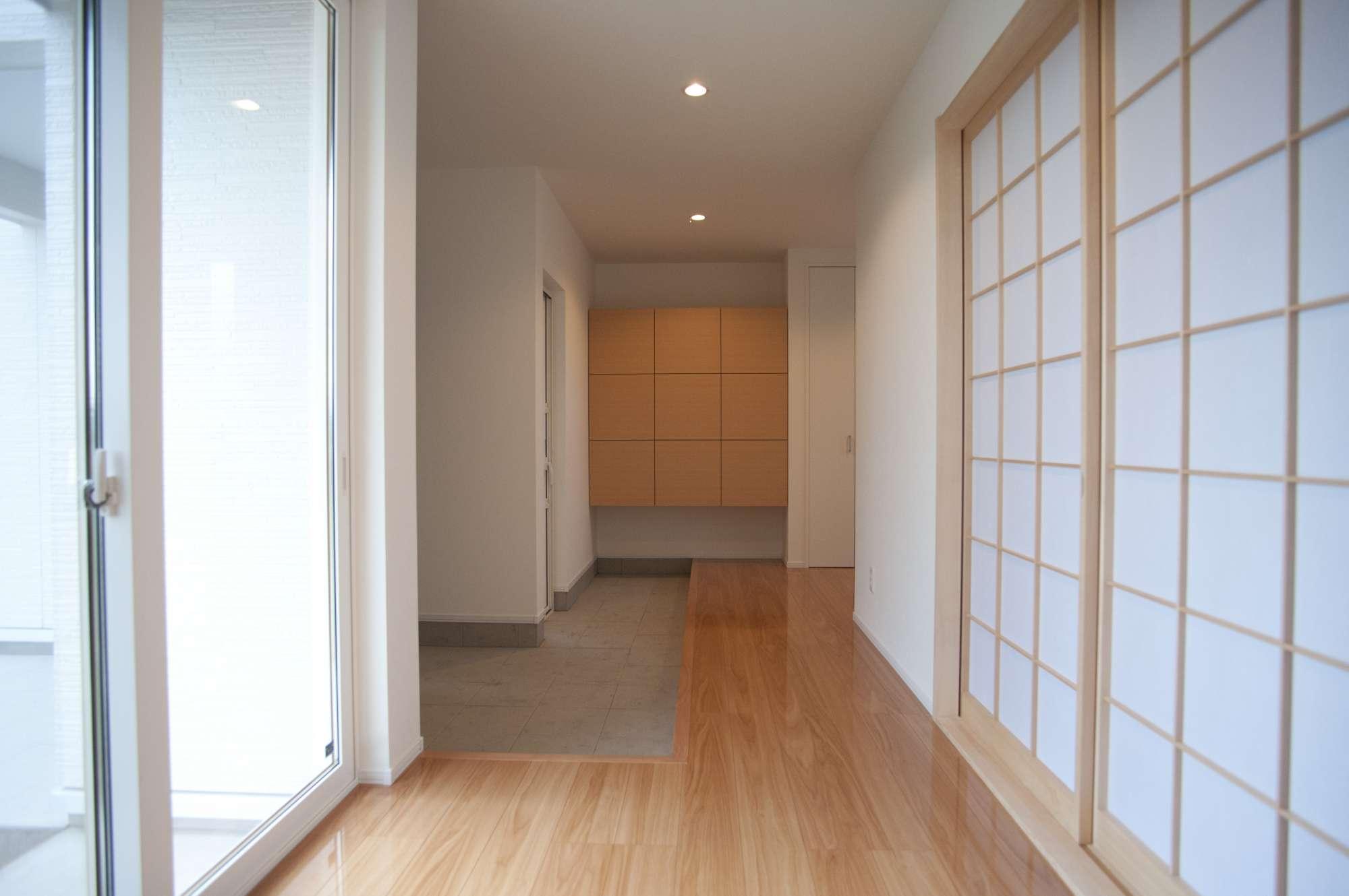 二世帯住宅で、1階フロアは親世帯が暮らす帯住宅 -  -  -