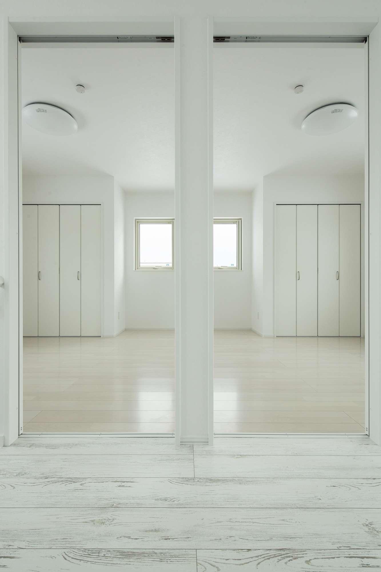 今はワンルームの洋室は、家族の人数に合わせて2部屋にも -  -  -
